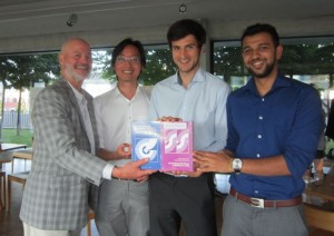Congratulations to the competition winners - the JIU interns.